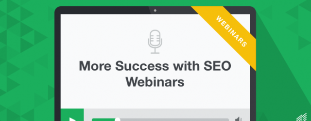 SEO webinars from Positionly