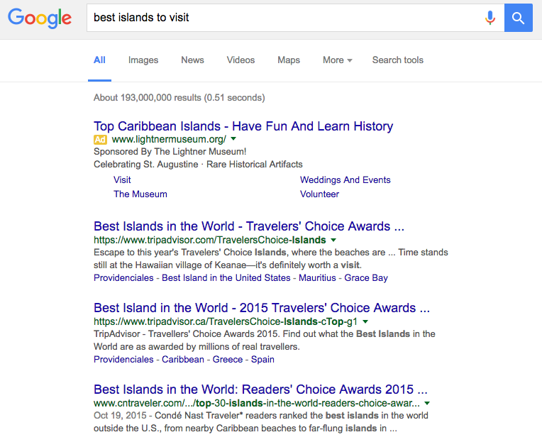 search-results-travel