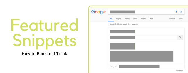 featured snippets how to track and rank