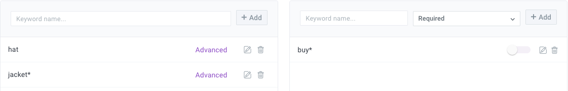 NOT boolean search operator example for social media monitoring