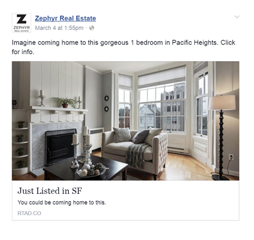 Facebook ads for real estate agencies
